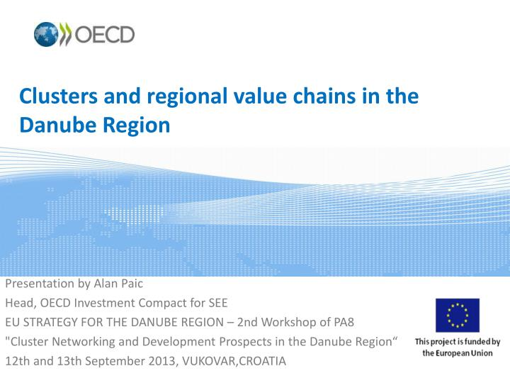 clusters and regional value chains in the danube region n.