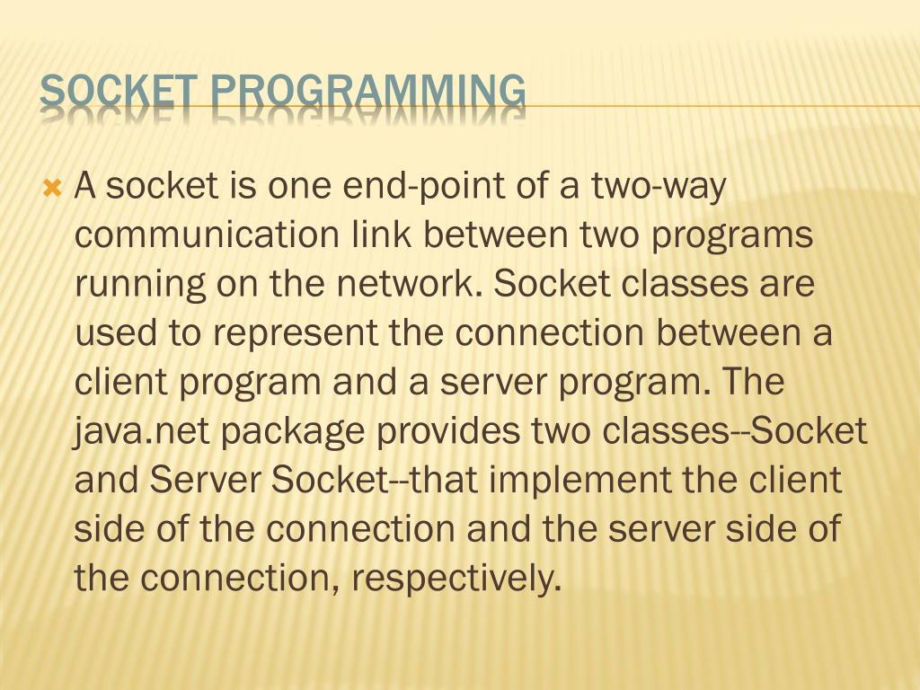 PPT - Network Programming lab(java) PowerPoint Presentation