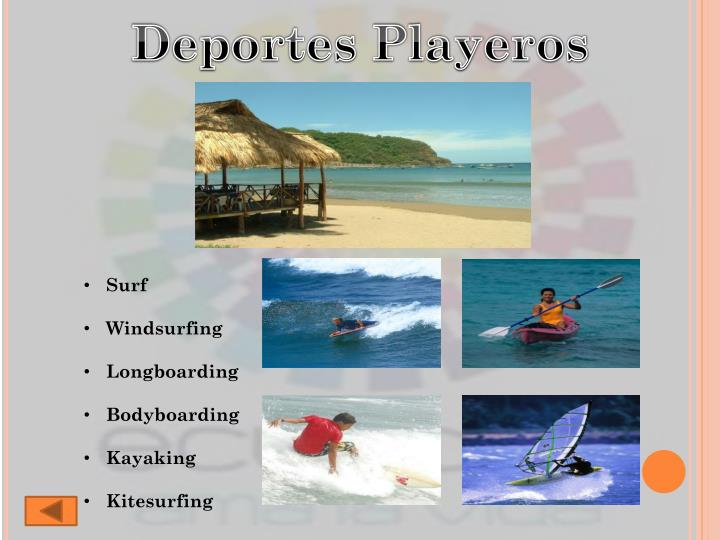 Deportes Playeros