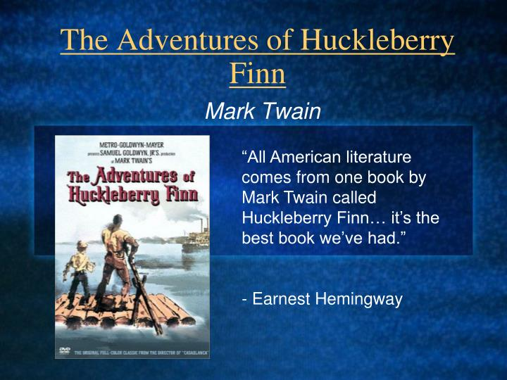 huck finn and thesis statement Thesis statement is true while there were some darker themes in tom sawyer as well, look to the several examples of the dark world huck lives and in this argumentative essay on huck finn, examine the dark themes of slavery, abuse, and dishonesty and decide what twain was trying.