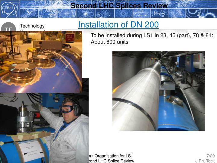 Second LHC Splices Review