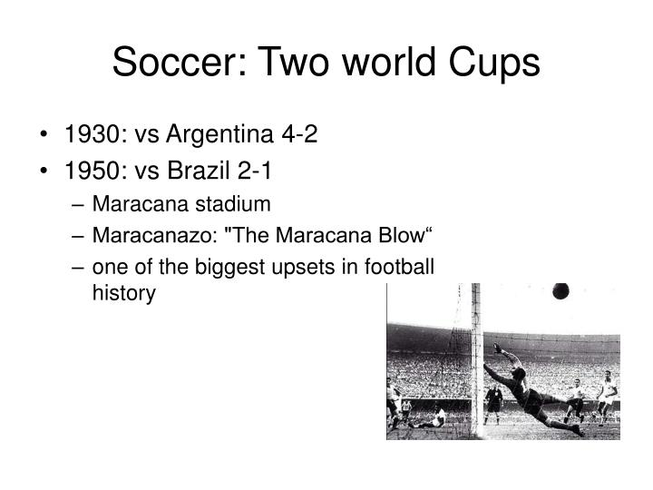 Soccer: Two world Cups