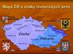 mapa r a znaky historick ch zem
