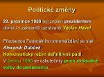 politick zm ny