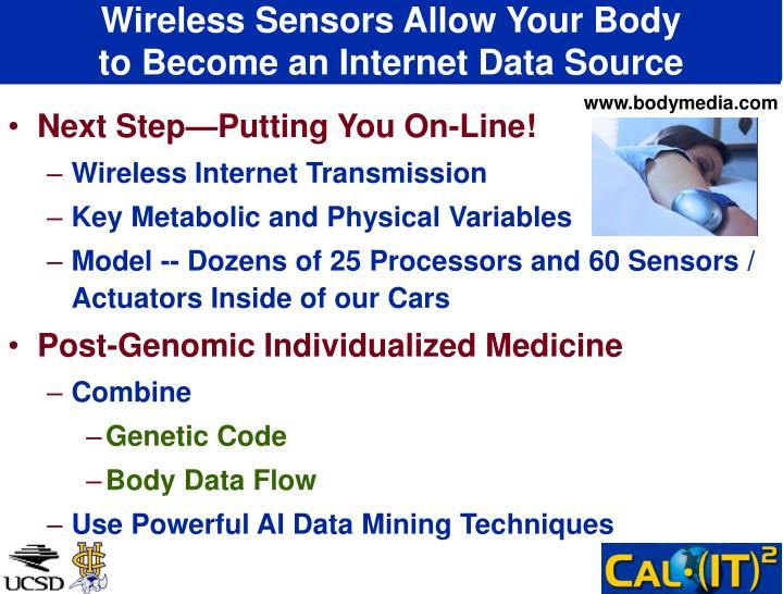Wireless Sensors Allow Your Body