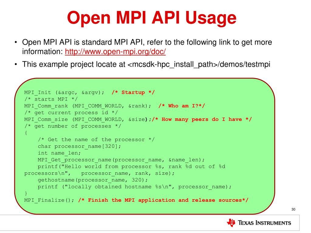 PPT - Open MPI PowerPoint Presentation, free download - ID