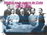 m dico en la guerra de cuba 1873 1876