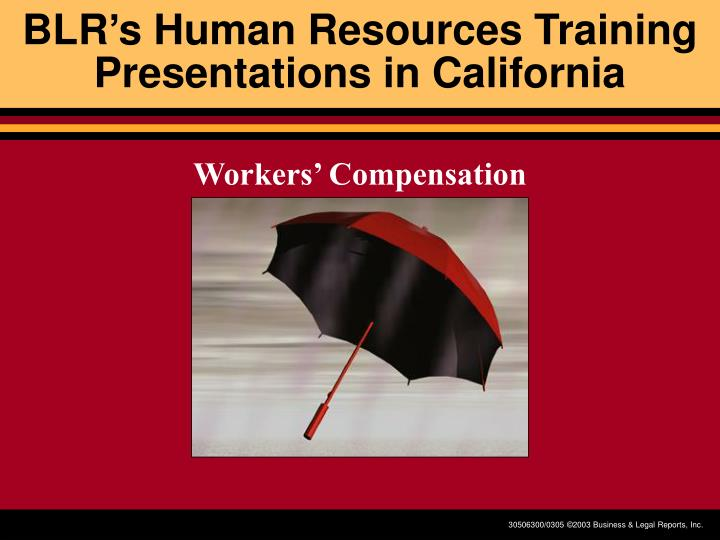 blr s human resources training presentations in california n.