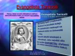evangelista t orricelli