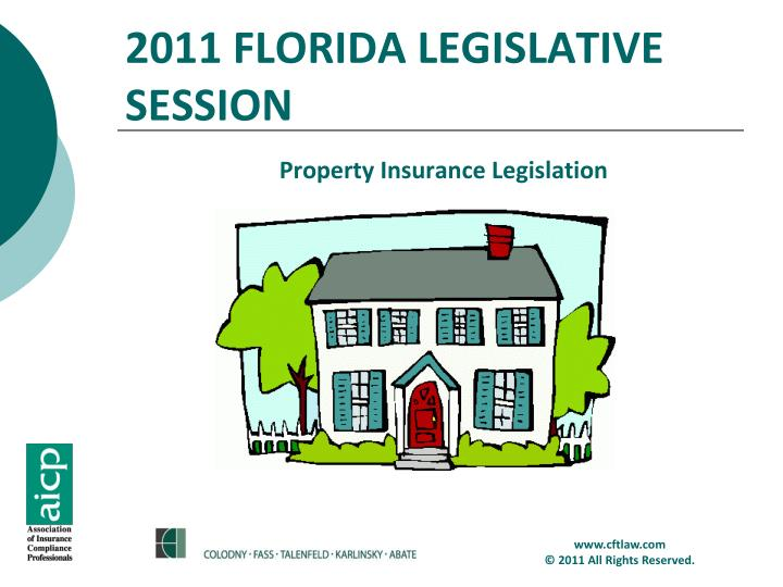Property Insurance Legislation