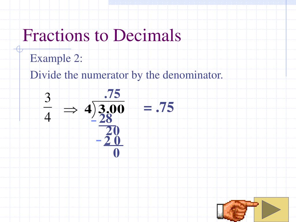how to divide fractions by decimals