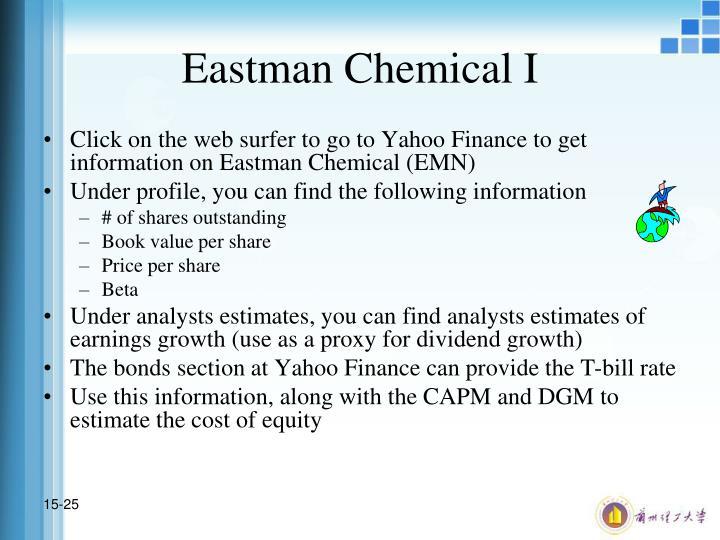 Eastman Chemical I