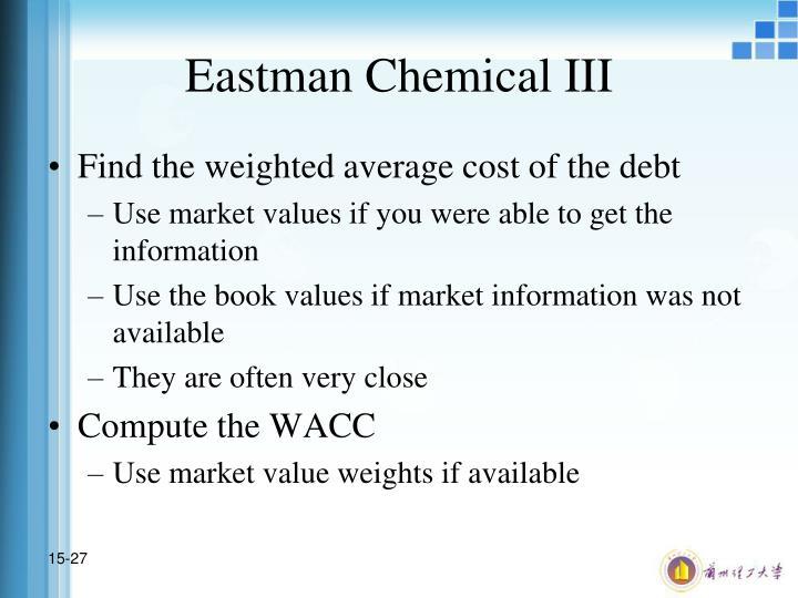 Eastman Chemical III