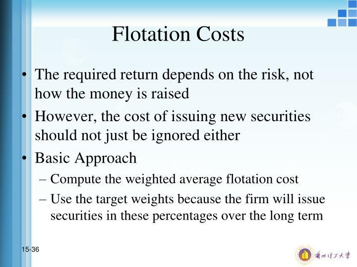 Flotation Costs