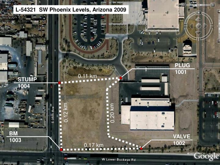 L-54321  SW Phoenix Levels, Arizona 2009