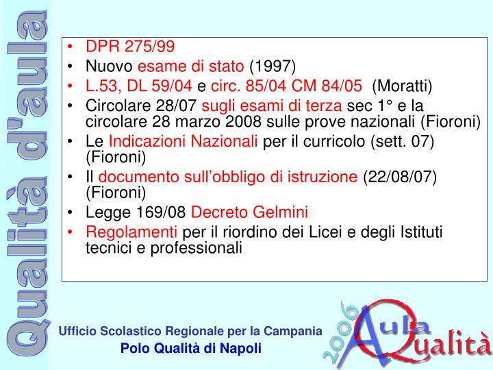 DPR 275/99