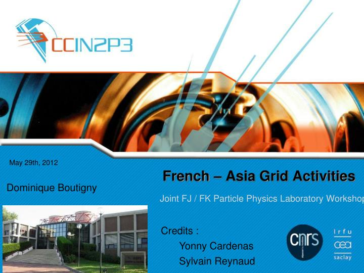 french asia grid activities n.