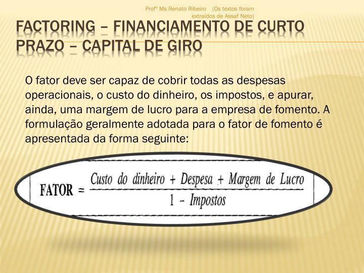Factoring financiamento de curto prazo capital de giro2