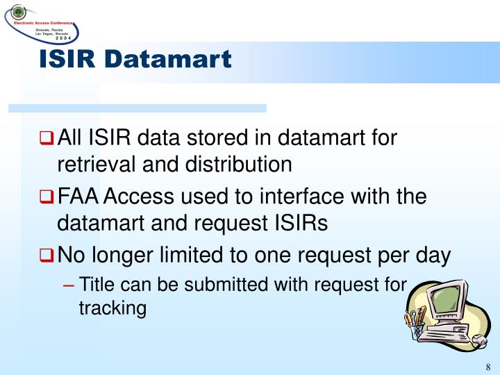 ISIR Datamart