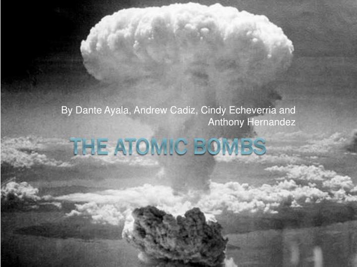 a historical narrative of the use of the atomic bomb on the japanese islands On the first use of the atomic bomb and over history: defining the hiroshima narrative the atomic bomb and the japanese surrender.