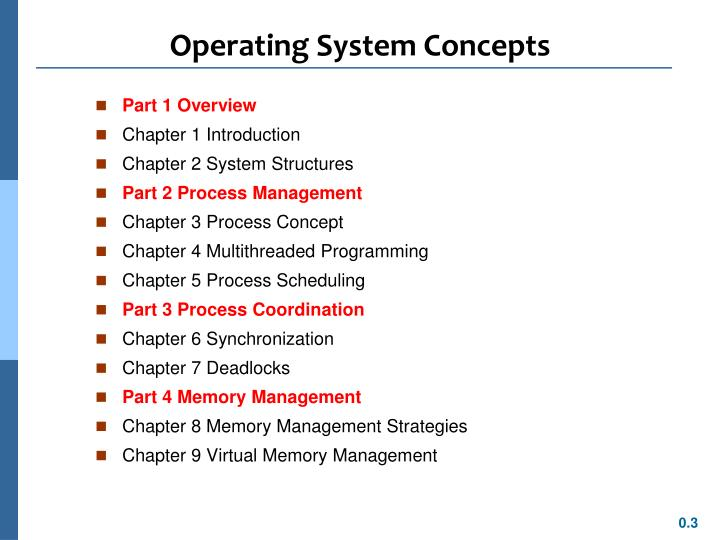Operating system concepts1