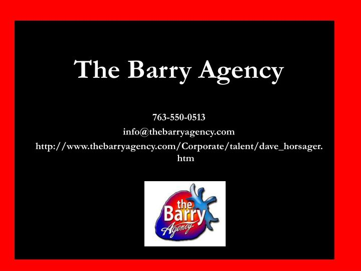 The Barry Agency