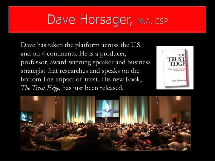 Dave Horsager,