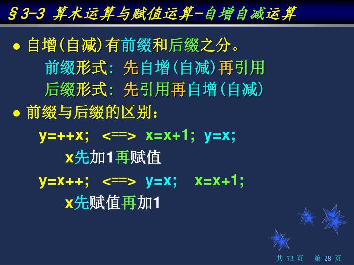 §3-3 算术运算与赋值运算-