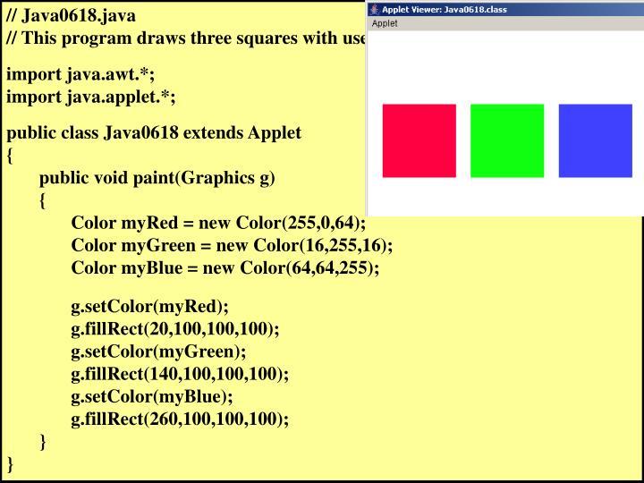// Java0618.java