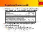 empirische ergebnisse 2