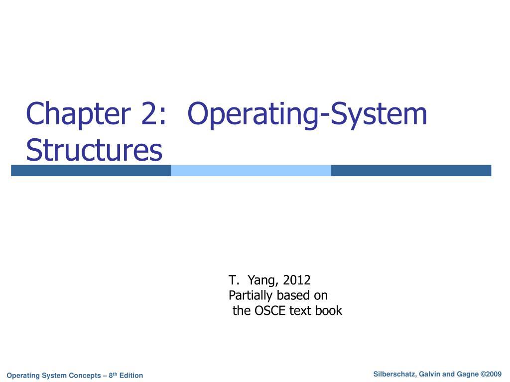 Ppt Chapter 2 Operating System Structures Powerpoint Presentation