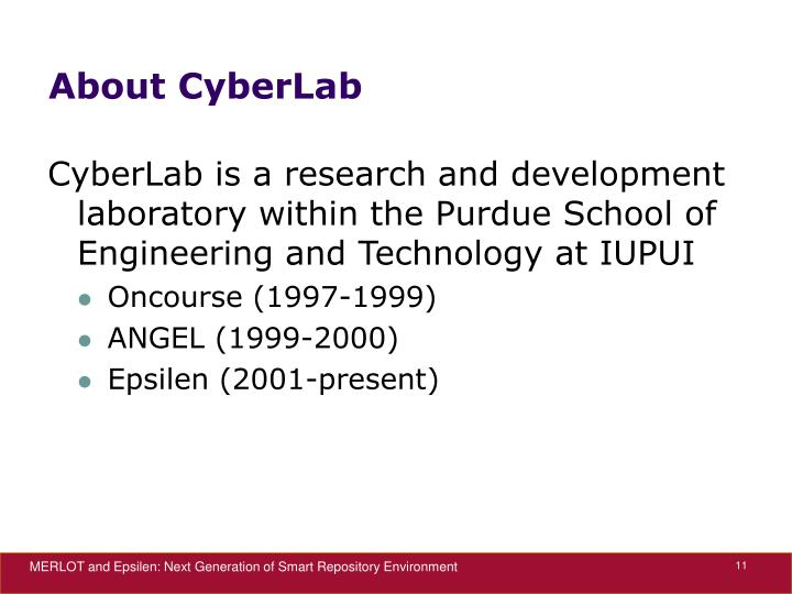About CyberLab