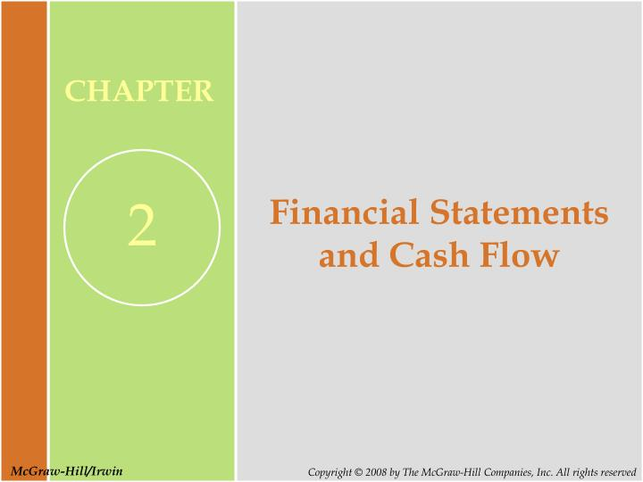 financial statements and cash flow n.