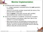 monitor implementation2