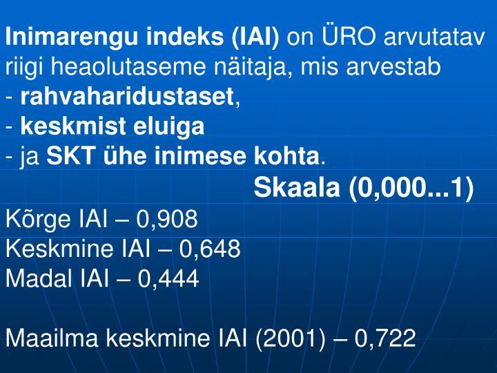 Inimarengu indeks