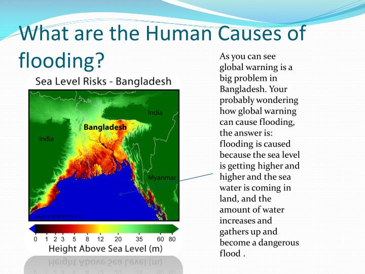 a look at the causes and effects of floods in bangladesh Bangladesh is the most flood prone area in the world bangladesh is vulnerable due to presence of a monsoon season which causes heavy rainfall other factors which have contributed to flooding are deforestation in nepal which has caused soil erosion.