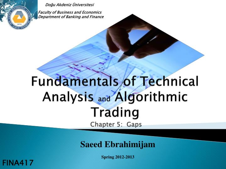 fundamentals of technical analysis and algorithmic trading chapter 5 gaps n.