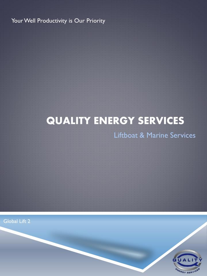 quality energy services n.