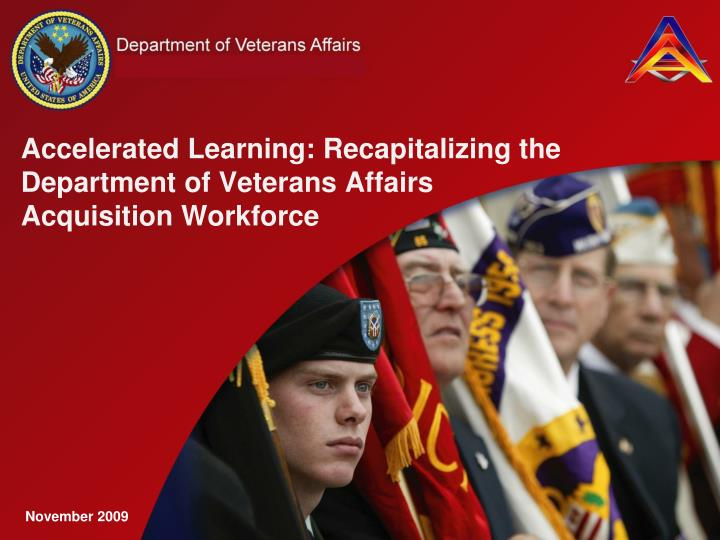 accelerated learning recapitalizing the department of veterans affairs acquisition workforce n.