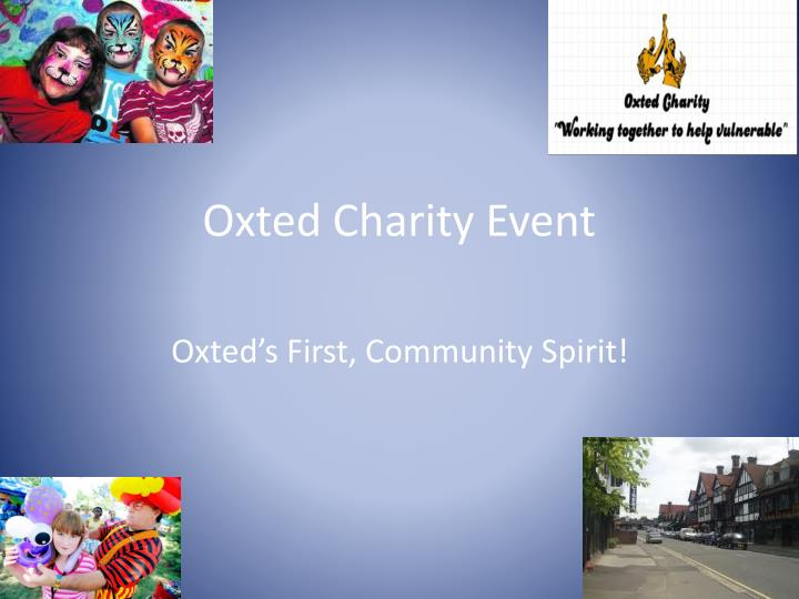 oxted charity event n.