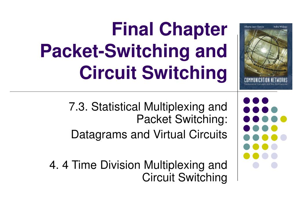 Ppt Final Chapter Packet Switching And Circuit Virtual N