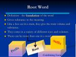 root word