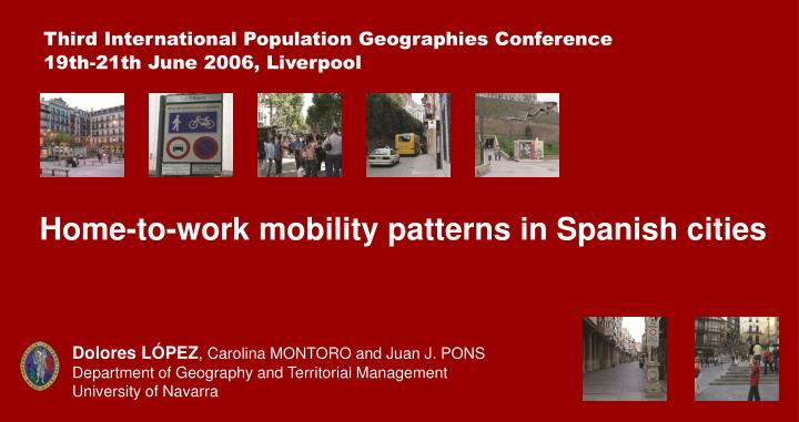 Third International Population Geographies Conference