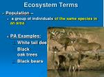 ecosystem terms1