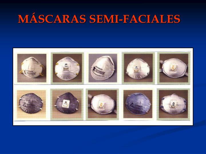 MÁSCARAS SEMI-FACIALES
