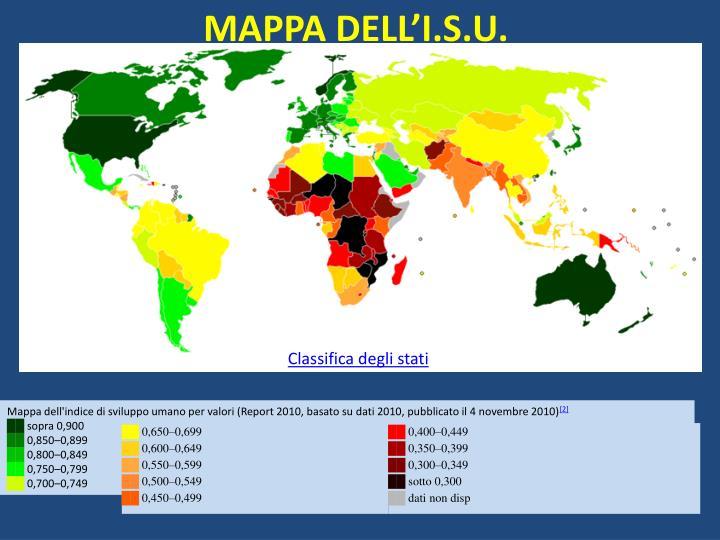 MAPPA DELL'I.S.U.