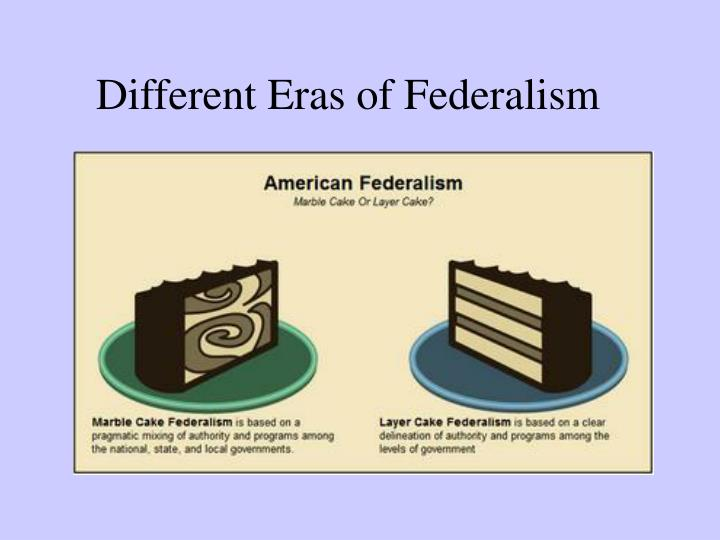 different eras of federalism n.