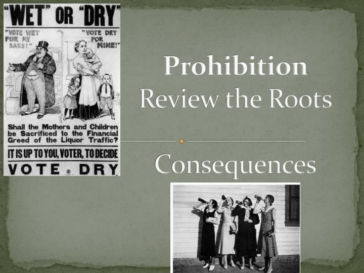 prohibition review the roots consequences n.