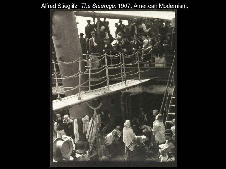 Alfred Stieglitz.