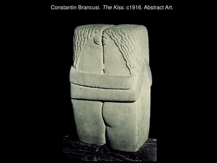 Constantin Brancusi.